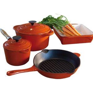 6 Piece Non-Stick Cookware Set