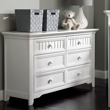 Winchester 6 Drawer Double Dresser by Suite Bebe