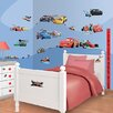 Walltastic 6 Piece Disney Cars Wall Sticker Set