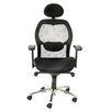 Home Etc Portland High-Back Mesh Executive Chair with Lumbar Support