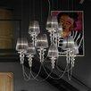 Evi Style Gadora Chic 9-Light Shaded Chandelier