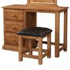 Andover Mills Cabriel 3 Drawer Dressing Table Set