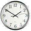 Kitchen Craft 25cm Stainless Steel Wall Clock