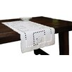 Xia Home Fashions Spring Field Embroidered Cutwork Table Runner