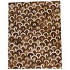 TheRealRugCompany Patchwork Brown Area Rug