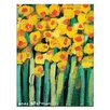 Artist Lane Yellow Jonquils by Anna Blatman Art Print Wrapped on Canvas