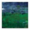 Artist Lane Views Across The Valley by Sally Adams Art Print on Canvas
