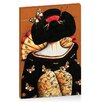 Artist Lane Geisha Girl by Karin Taylor Art Print on Canvas
