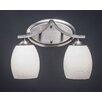 Toltec Lighting Zilo 2-Light Vanity Light
