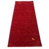 Parwis Gabbeh Supreme Handmade Red Area Rug