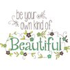 Wallpops! Be Your Own Typography Wall Sticker