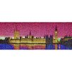 RareArtStudios Westminster Lights Vivid Mosaic Limited Edition Framed Graphic Art