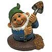 Design Toscano Shoveling Sam, the Garden Gnome Statue
