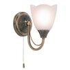 Endon Lighting Martino 1 Light Semi Flush Wall Light