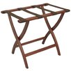 Wooden Mallet Deluxe Contour Leg Luggage Rack