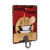 Black Country Metal Works Soupe Chaude Advert Wall Hook