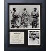 Legends Never Die Babe Ruth Collage Framed Memorabilia