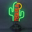 Neonetics Business Signs Tequila Cactus Neon Sign