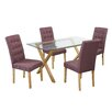 LPD Cadiz Dining Table and 4 Chairs