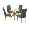LPD Oporto Dining Table and 4 Chairs