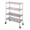 """IMC Teddy Budget Line 61"""" H Four Shelf Shelving Unit"""