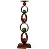 House Additions Metal Art Cricle Candlestick