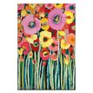 Artist Lane Pair Poppy by Anna Blatman Art Print on Canvas