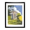 Star Editions Royal Botanic Garden, Edinburgh by Dave Thompson Framed Vintage Advertisement