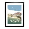 Star Editions Cromer, Norfolk by Dave Thompson Framed Vintage Advertisement