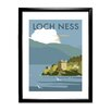 Star Editions Loch Ness by Dave Thompson Framed Vintage Advertisement