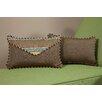 South Sea Rattan Wild Thing Small Indoor/Outdoor Sunbrella Lumbar Pillow