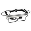 All Home Rectangle Stainless Steel Food Warmer with Marinex Glass Dish