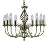 Searchlight Zanzibar 8 Light Candle-Style Chandelier