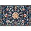 Loloi Rugs Francesca Hand-Woven Blue/Spice Area Rug