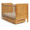 Obaby Disney Winnie the Pooh Deluxe 2-in-1 Convertible Cot with Mattress