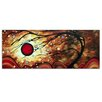Metal Art Studio 'Flaming Desire' by Megan Duncanson Painting Print Plaque