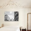 Ruby and B Paris Street Photographic Print on Canvas