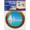 Imagicom Porthole Boat Day Wall Sticker