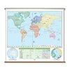 Universal Map Beginner Wall Map - World