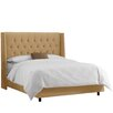DeMille Upholstered Panel Bed