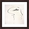 Sketch of Beauty Framed Painting Print