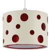 Pacific Lifestyle Victor 46cm Polyester Silk Drum Pendant Shade