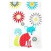 MU Kitchen Fox Designer Print Towel (Set of 2)