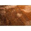 Home & Haus Mikrofibra Brown/Orange Area Rug