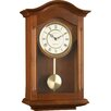 London Clock Company Wood and Metal Pendulum Wall Clock