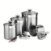Tramontina Gourmet 4 Piece Kitchen Canister Set