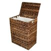 BirdRock Home Abaca Wicker Laundry Hamper