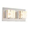 Home Essence Macan 2 Light Flush Wall Light