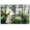 Oliver Gal Canyon Gallery Walk in the Woods Graphic Art Wrapped on Canvas
