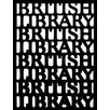 Magnolia Box The British Library Portico by Tony Antoniou Framed Typography